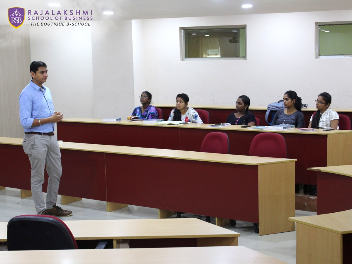 Guest lecture by Mr. Vijay Nagabhushan, Team Manager - Business Process Consulting, Cognizant