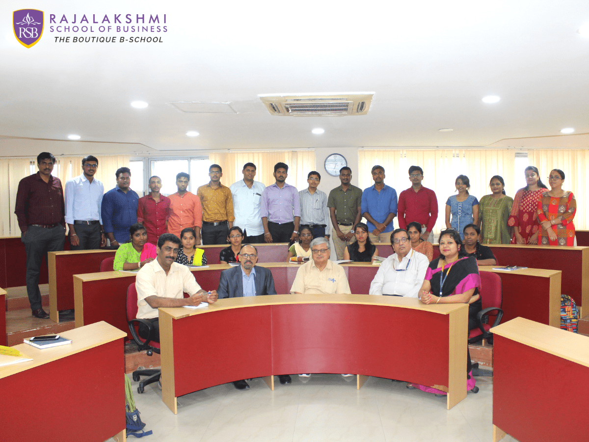Guest Lecture by Mr. Satish Kumar, Chief Mentor, RSB