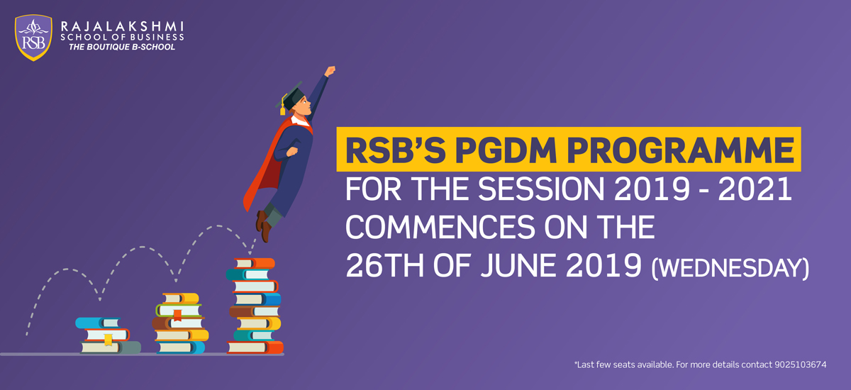 RSB's PGDM Programme
